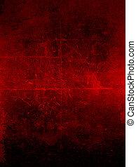 grunge, sfondo rosso
