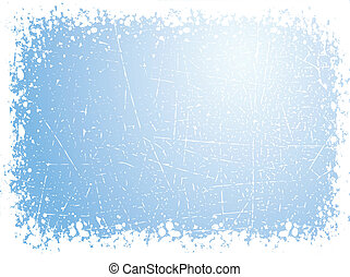 Grunge snow - Grunge winter background