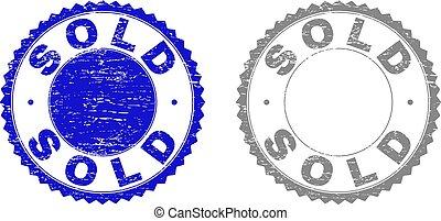 Grunge SOLD Textured Stamp Seals