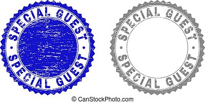 Grunge SPECIAL GUEST Textured Stamps