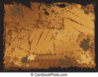 Grunge stained texture