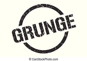 grunge stamp