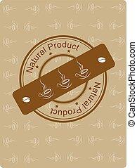 "Grunge stamp ""Natural Procuct"""
