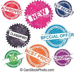 Grunge Stamps