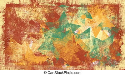 grunge stars loopable background