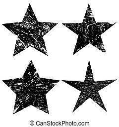 grunge, stjärnor