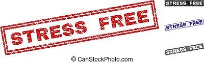 Grunge STRESS FREE Textured Rectangle Watermarks