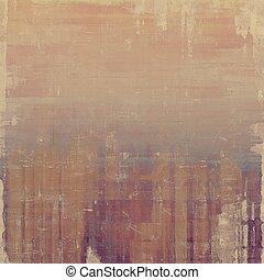 grunge, struktur, maj, vara, använd, som, retro-style, bakgrund., med, olik, färg, patterns:, brown;, purpur, (violet);, gray;, cyan