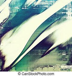 grunge, struktur, maj, vara, använd, som, retro-style, bakgrund., med, olik, färg, patterns:, green;, purpur, (violet);, blue;, cyan