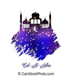 grunge style Eid Al Adha background 2306 - Eid Al Adha ...