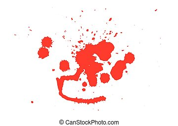 Grunge style Halloween background with blood splats