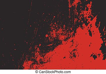 Grunge style Halloween background with blood splats