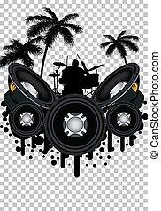 grunge, style, musique