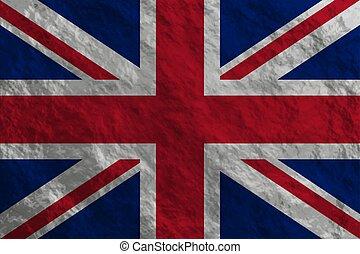 Grunge styled flag