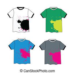 Grunge stylish t-shirt design