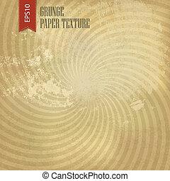 Grunge sunburst background. Vector, EPS10