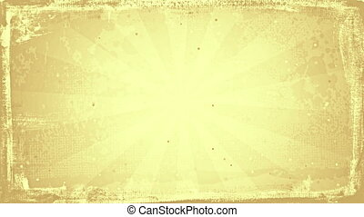 grunge sunny sepia rays loopable background