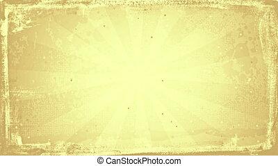 grunge sunny sepia rays loopable background - grunge sunny...