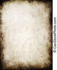 grunge texture - 2d illustration of an old paper texture