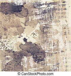 Grunge texture - Abstract grunge background, ink texture.