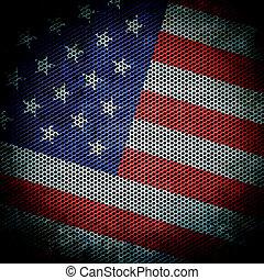 grunge texture American flag