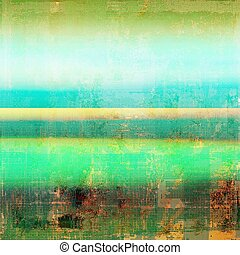 Grunge texture, decorative vintage background. With different color patterns: yellow (beige); brown; green; blue; red (orange); cyan