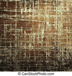 Grunge texture, decorative vintage background. With different color patterns: yellow (beige); brown; gray; black; white