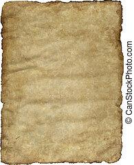 illustration of an old vintage paper