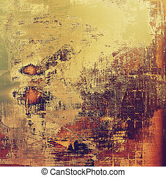 Grunge texture, may be used as background. With different ...