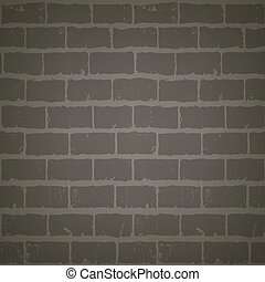 brick wall at night