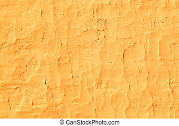 Grunge texture of orange cement wall