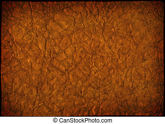 Grunge texture paper of yellow color