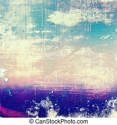Grunge texture, scratched surface or vintage background. With different color patterns: yellow (beige); purple (violet); blue; pink; cyan