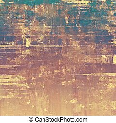 Grunge texture, Vintage background. With different color patterns: yellow (beige); brown; blue; purple (violet)