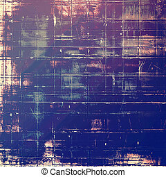 Grunge texture, Vintage background. With different color patterns: yellow (beige); purple (violet); blue; pink