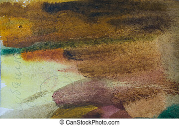 grunge texture watercolor background