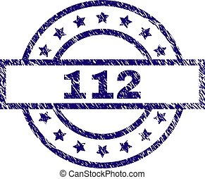 Grunge Textured 112 Stamp Seal