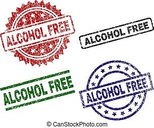 Grunge Textured ALCOHOL FREE Stamp Seals