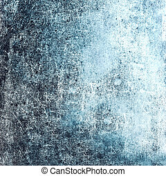 Grunge Textured background with scratches  for your design. Blue