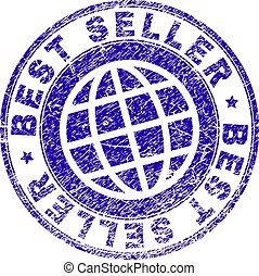 Grunge Textured BEST SELLER Stamp Seal
