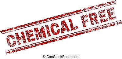 Grunge Textured CHEMICAL FREE Stamp Seal