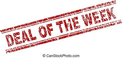 Grunge Textured DEAL OF THE WEEK Stamp Seal