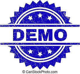 Grunge Textured DEMO Stamp Seal