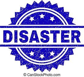 Grunge Textured DISASTER Stamp Seal - DISASTER stamp seal...