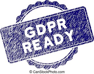 Grunge Textured GDPr Ready Stamp Seal