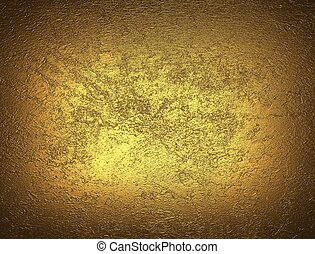 grunge Textured gold background