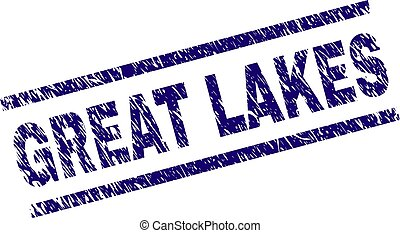 Grunge Textured GREAT LAKES Stamp Seal - GREAT LAKES seal ...