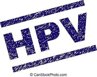 Grunge Textured HPV Stamp Seal