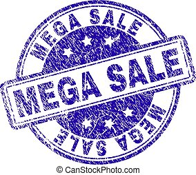 Grunge Textured MEGA SALE Stamp Seal