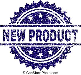 Grunge Textured NEW PRODUCT Stamp Seal
